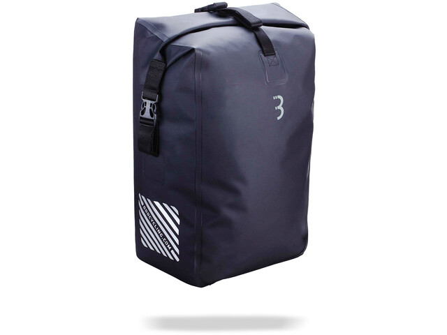 BBB PortoVault Waterproof Pannier Bag 25l black